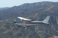 N3862Q @ CA89 - Passing over Lake Elsinore