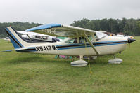 N9417M @ OSH - Aircraft in the camping areas at 2011 Oshkosh