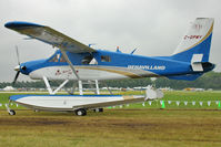 C-GPMY @ OSH - Beaver - Aircraft in the camping areas at 2011 Oshkosh