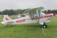 N4313P @ OSH - Aircraft in the camping areas at 2011 Oshkosh
