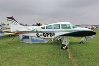 C-GPDF @ OSH - Aircraft in the camping areas at 2011 Oshkosh - by Terry Fletcher