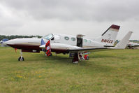 N414XX @ OSH - Aircraft in the camping areas at 2011 Oshkosh
