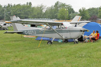 C-GOYJ @ OSH - Aircraft in the camping areas at 2011 Oshkosh