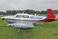 N5726M @ OSH - Aircraft in the camping areas at 2011 Oshkosh