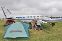 N246JW @ OSH - Aircraft in the camping areas at 2011 Oshkosh