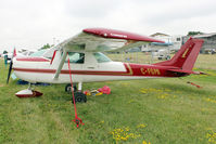 C-FGPB @ OSH - Aircraft in the camping areas at 2011 Oshkosh - by Terry Fletcher