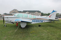 N6860W @ OSH - Aircraft in the camping areas at 2011 Oshkosh