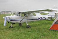 N6641H @ OSH - Aircraft in the camping areas at 2011 Oshkosh