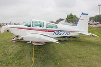 N9577U @ OSH - Aircraft in the camping areas at 2011 Oshkosh