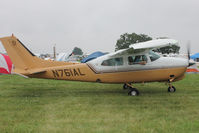 N761AL @ OSH - Aircraft in the camping areas at 2011 Oshkosh - by Terry Fletcher