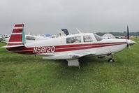 N58120 @ OSH - Aircraft in the camping areas at 2011 Oshkosh
