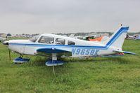 N9658K @ OSH - Aircraft in the camping areas at 2011 Oshkosh