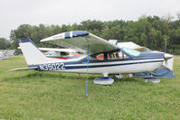 N35022 @ OSH - Aircraft in the camping areas at 2011 Oshkosh