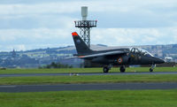 E146 @ EGQL - E146 Lands back at Leuchars after its display - by Mike stanners