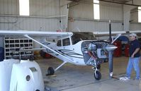 N2359Z @ KFFZ - Cessna 172S inside the Hangar of the CAF Arizona Wing Museum at Falcon Field, Mesa AZ - by Ingo Warnecke
