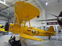 N52558 @ KFFZ - Boeing / Stearman A75N1 (PT-17) at the CAF Arizona Wing Museum, Mesa AZ - by Ingo Warnecke
