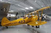 N52558 @ KFFZ - Boeing / Stearman A75N1 (PT-17) at the CAF Arizona Wing Museum, Mesa AZ - by Ingo Warnecke