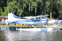 N185BS @ OSH - At Lake Winnebago, during 2011 Oshkosh Week