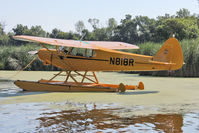 N818R @ OSH - At Lake Winnebago, during 2011 Oshkosh Week