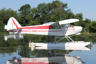 C-GBIZ @ OSH - At Lake Winnebago, during 2011 Oshkosh Week