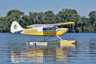 N859DS @ OSH - At Lake Winnebago, during 2011 Oshkosh Week