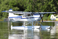 N185SM @ OSH - At Lake Winnebago, during 2011 Oshkosh Week