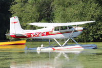 N529PH @ OSH - At Lake Winnebago, during 2011 Oshkosh Week