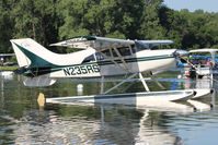 N235RS @ OSH - At Lake Winnebago, during 2011 Oshkosh Week