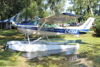 C-GSWI @ OSH - At Lake Winnebago, during 2011 Oshkosh Week