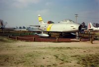53-1230 @ MER - North American F-86H Sabre at Castle Air Museum, Atwater, CA - July 1989 - by scotch-canadian