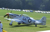 F-AZSB @ EDST - North American P-51D Mustang at the 2011 Hahnweide Fly-in, Kirchheim unter Teck airfield - by Ingo Warnecke