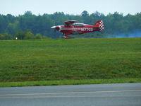 N177CD @ LKU - Landing at Freeman Field during the Louisa County Air Show, 2011 - by Gary Barnes