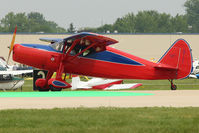 N81361 @ OSH - Over the green landing marker at 2011 Oshkosh - by Terry Fletcher