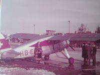 HB-EAK @ LSZA - Lugano Airport 1948When aircraft OY-LPJ was registered as HB-EAK - by John Galvin