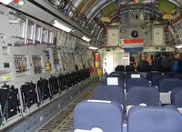03 @ EHLW - Inside C-17 Hungary AF / NATO ; Dutch Air force  Open Day at Leeuwarden AFB - by Henk Geerlings