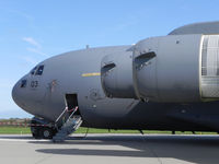 03 @ EHLW - C-17 .Hungary AF / NATO ;  Dutch Air Force Open Day at Leeuwarden AFB - by Henk Geerlings