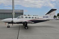 9H-GIA @ LOWW - Cessna 421 - by Dietmar Schreiber - VAP