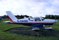 G-DAND @ EGBS - Portway Aviation - by Chris Hall