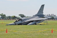 87-0296 @ OSH - Suffered nose wheel collapse at 2011 Oshkosh - by Terry Fletcher