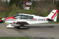 D-EHKE @ EDMK - waiting for pilot - by Lötsch Andreas