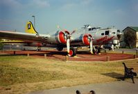 43-38635 @ MER - 1943 Boeing B-17G Flying Fortress at Castle Air Museum, Atwater, CA - July 1989 - by scotch-canadian