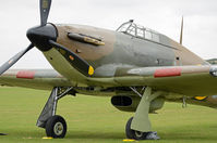G-HURI @ EGSU - SHOT AT DUXFORD - by Martin Browne