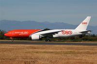 N778SA @ KPAE - KPAE/PAE Boeing 123 (OO-TSB) on a high speed taxi test.
