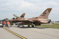 86-0283 @ DAY - F-16C in aggressor colors