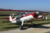 D-EJEX @ EDST - Dornier Do 27Q-1 at the 2011 Hahnweide Fly-in, Kirchheim unter Teck airfield - by Ingo Warnecke