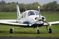 G-BSHP @ EGCB - Flight Academy Ltd - by Chris Hall