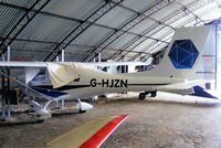 G-HJZN @ EGCB - brand new and unflown Jabiru based at Barton - by Chris Hall