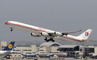 B-6052 @ KLAX - Departing LAX