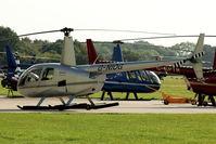 G-NIOG @ EGLD - 2004 Robinson Helicopter Co Inc ROBINSON R44 II, c/n: 10471 at Denham