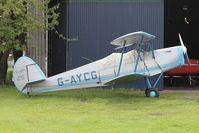 G-AYCG @ EGLM - 1970 Stampe-Vertongen SV-4C, c/n: 59 at White Waltham